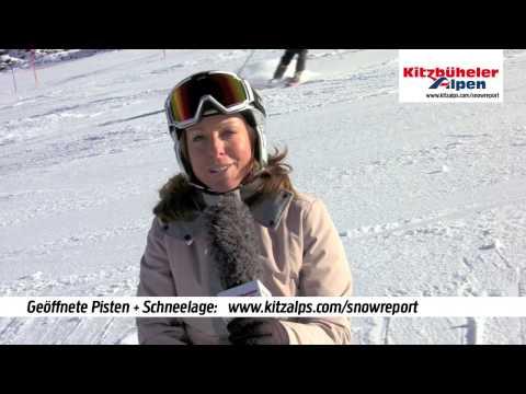 Snowreport:  Skifahren - Kitzbüheler Alpen | 22./23. Oktober 2016