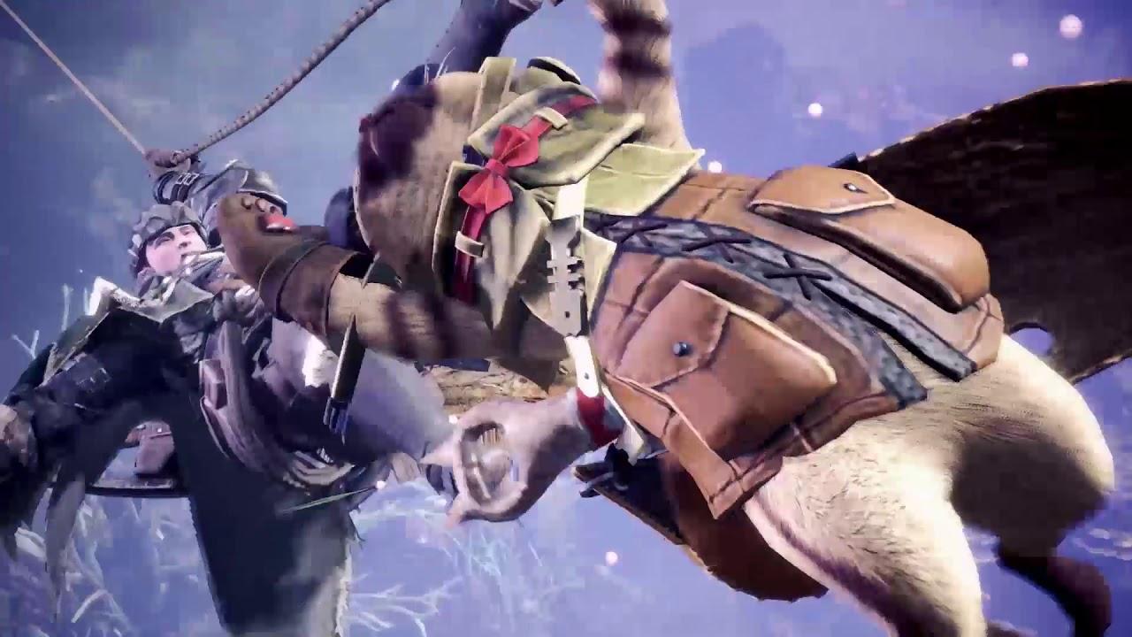 PS4™ 遊戲《Monster Hunter: World》宣傳影像