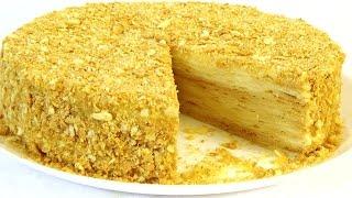 видео Торт Наполеон