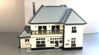 Our Lego House MOC in our Lego City