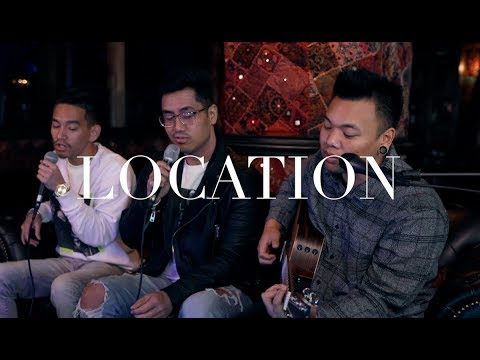 Location - Khalid (Cover) ft. JRA & Elmer Abapo   AJ Rafael