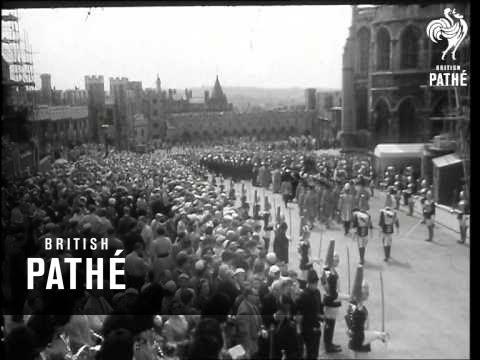 Garter Ceremony At Windsor - Different  Version (1958)