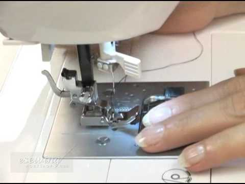Standard Zipper Zipper Foot Installation Free Sample YouTube New How To Put A Foot On A Sewing Machine