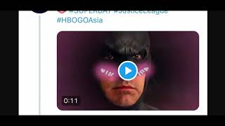 HBOAsia has this to say about the Snyder Cut......