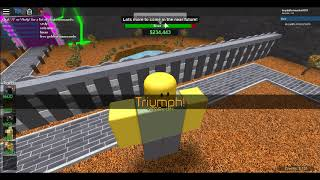 Roblox Tower battles simulator beated map Borderlands Solo