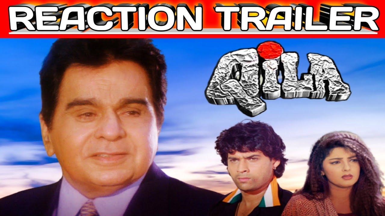 Download Qila 1998 Trailer And Reaction Dilip Kumar Mukul Dev Mamta Kulkarni Rekha Full Action Thrailler