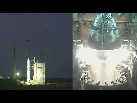 Ariane 5 ECA aborted launch with INTELSAT 37e and BSAT-4a
