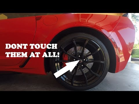 How To Wash A Corvettes Supercar Wheels Without Touching Or
