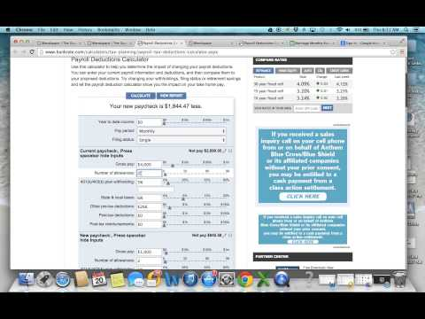 Calculating Net Income