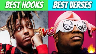 BEST RAP HOOKS vs BEST RAP VERSES!