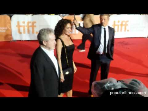 Ridley Scott and Wife Giannina Facio at TIFF
