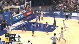 第24回FIBAアジア 日本代表プレー集(日本対台湾 日本対韓国)