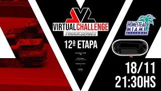 Etapa 12 - Virtual Challenge Truck Series T4 - HOMESTEAD MIAMI
