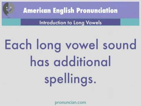 Introduction to Long Vowels - American English Pronunciation