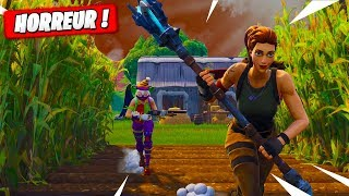 Le Clown Tueur du Champs de Mais ! Fortnite Terrain de Jeu