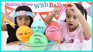 MAKING SLIME WITH BALLOON  ♥ TESTING VIRAL INSTAGRAM SLIME BALLOON TUTORIAL