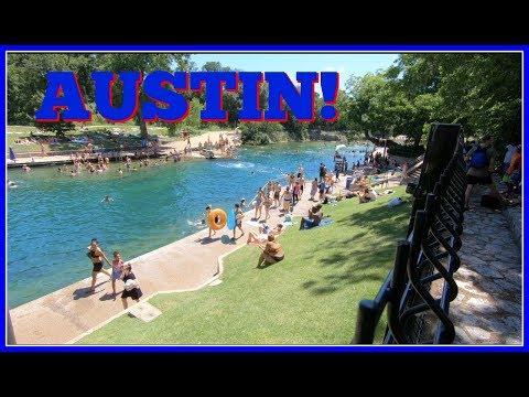 7 Austin |  Barton Springs! Pool | Zilker Park