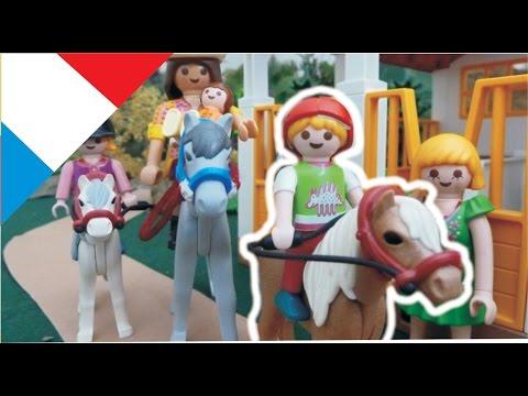 Playmobil en francais Lena à Cheval - La Famille Hauser  film pour enfants