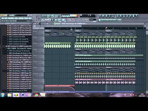 How to make a Nice Progressive House Track (Build Up & Drop) in Fl Studio + FLP