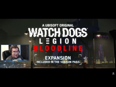 Aiden and Wrench are Back! Watch Dogs Legion Bloodline Expansion Trailer Live Reaction! |