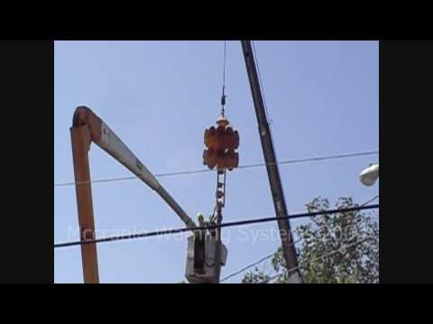 Rhine GA 2t22 siren Installation: Setting the pole and installing the on