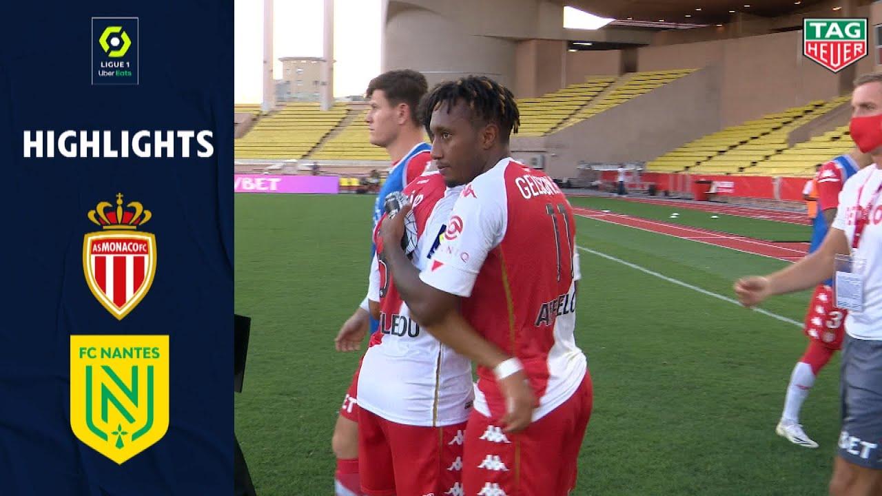 Монако  2-1  Нант видео