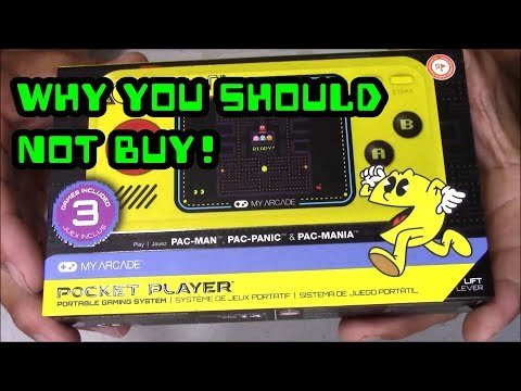 PAC-MAN Pocket Player: Why You Should Not Buy !!!
