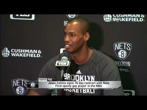 Jason Collins Returns to the NBA in Historic Fashion