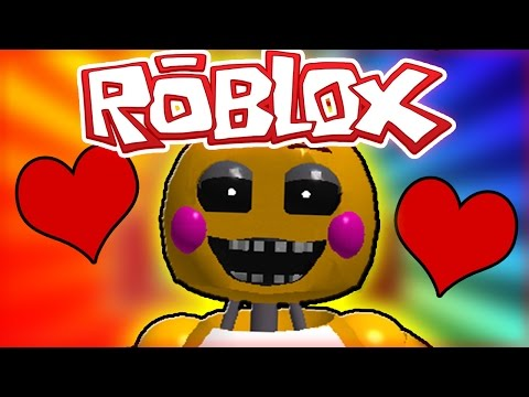 FNAF ROBLOX - BECOMING FRIENDS WITH TOY CHICA? - FNAF ROBLOX ROLEPLAY
