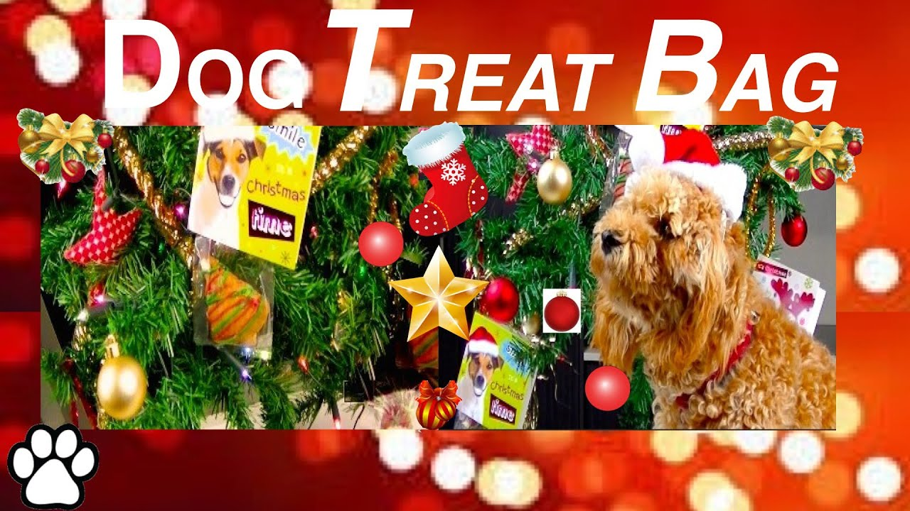 To make christmas dog treat bag festive xmas tree gift bag diy dog