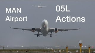 9 Impressive Modern Aircraft arrivals and departures at Manchester Airport