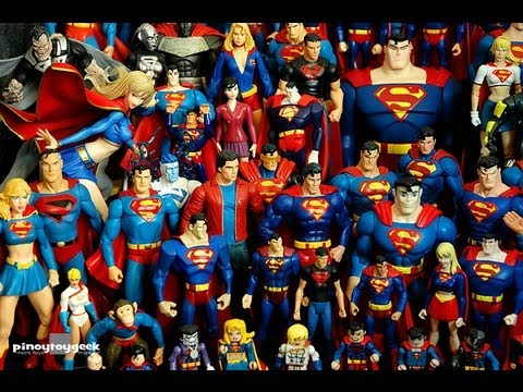 superman the man of steel action figure collection dc