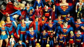 Superman The Man of Steel Action Figure Collection DC Universe