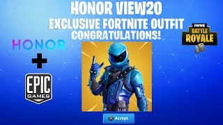 Nouveau EXCLUSIVE HONOR GUARD SKIN BUNDLE à Fortnite Battle Royale....