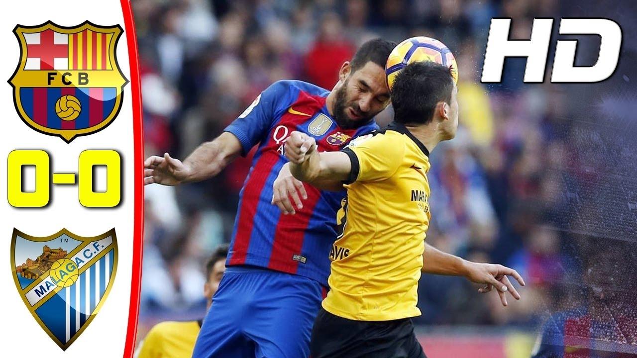 Download Barcelona vs Malaga 0 - 0 | Extended Highlights | La Liga 19 November 2016