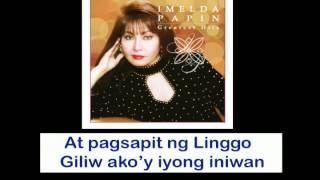 Imelda Papin - Isang Linggong Pag-Ibig (Lyrics Video)