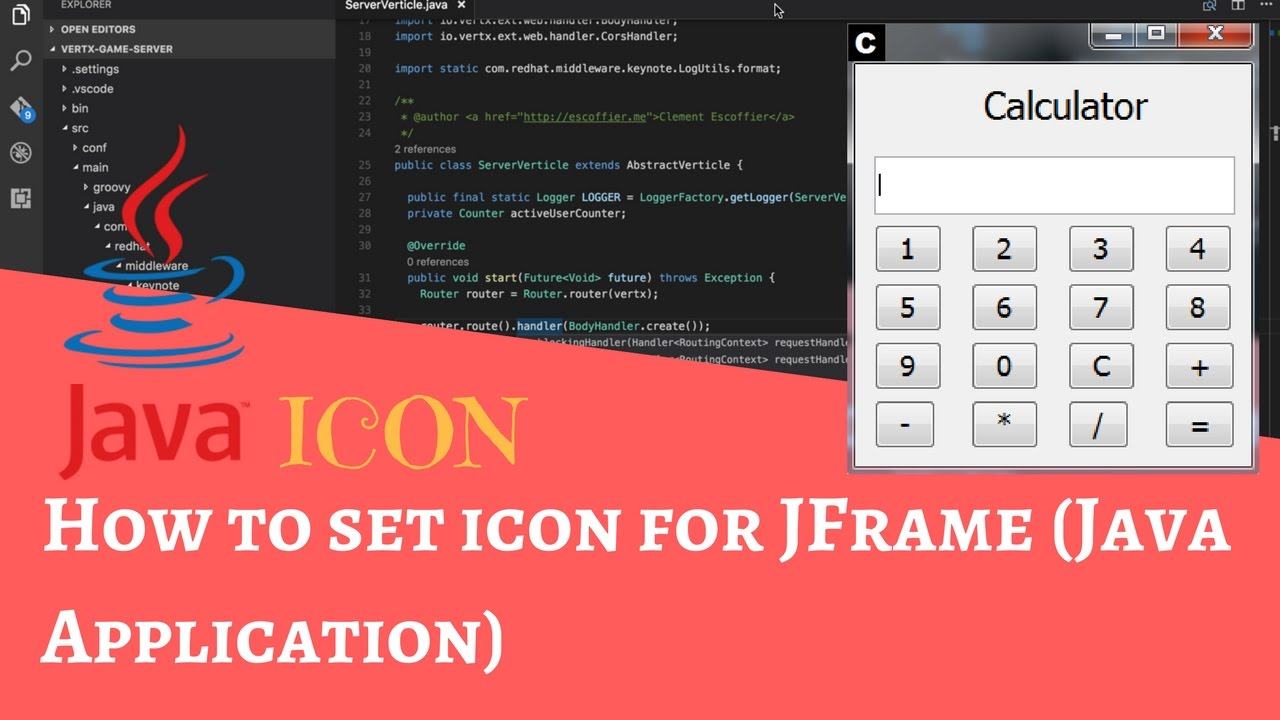 add image icon to jframe