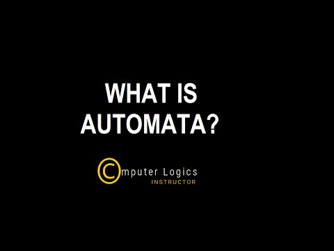 TOC | Lecture - 1 | What is Automata? | Computer Logics Instructor
