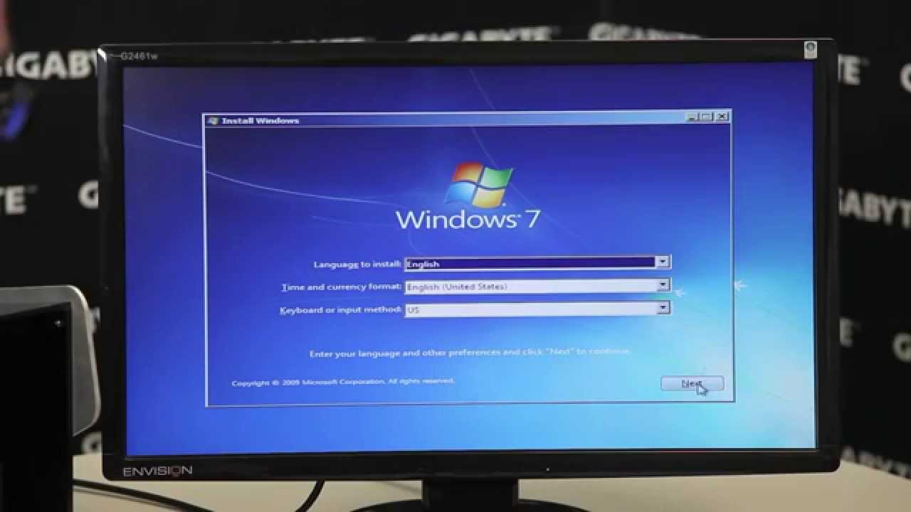 GIGABYTE 100 Series - Windows 7 USB Installation Tool