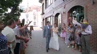 Ведущая Елена Крупнова свадьба на английском языке