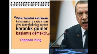 Tescilli VATAN HAİNİ Recep Tayyip Erdoğan - İŞTE BELGELER!