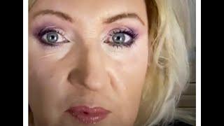 Полный макияж и разговор об уходе за кожей