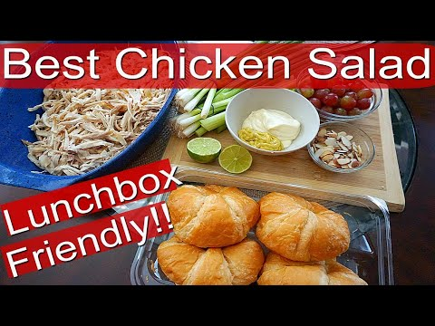 Crazy Simple & Delicious Chicken Salad Recipe!