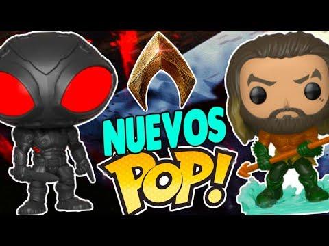 ¡EPICOS NUEVOS Funko POP de AQUAMAN