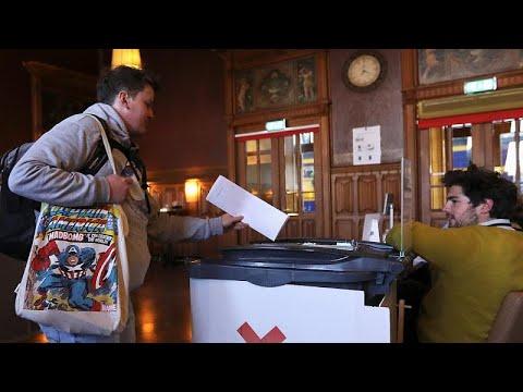 euronews (en français): Européennes 2019 : les bureaux de vote ouverts au Pays-Bas et au Royaume-Uni