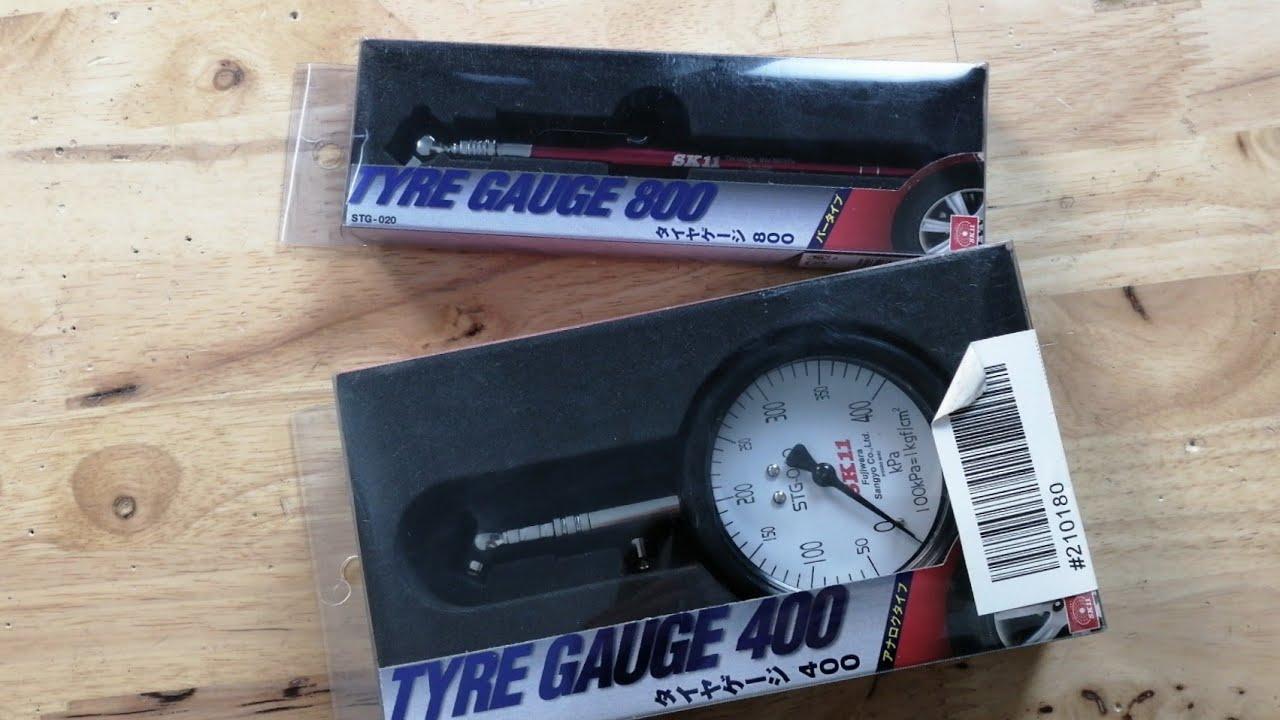 Dụng cụ nhật 956 đồng hồ đo áp lốp xe SK11 STG-040, Sk11 STG-020