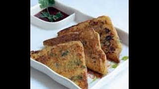 Bread Besan Toast Recipe   Vegetable Besan French Toast Recipe