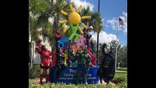 Heroes Unite at Golisano Children's Hospital of Fort Myers, FL