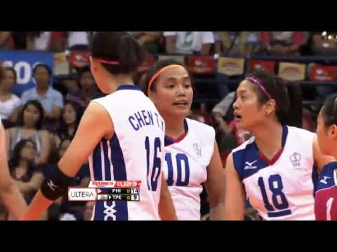 U23: Taipei vs. Philippines Set 1
