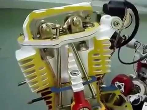 HOW Motorcycle Engines Works?